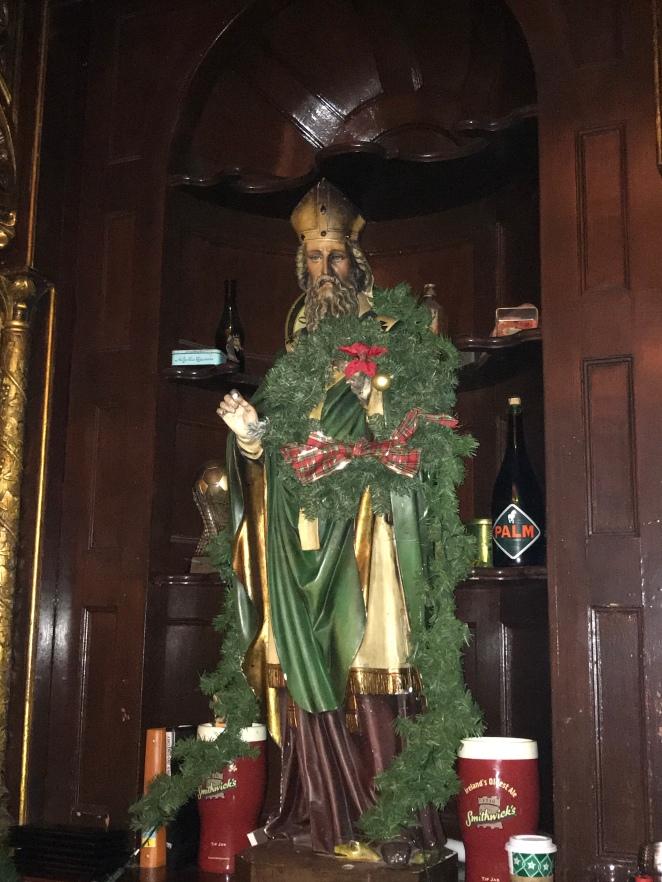 Ri Ra Saint Patrick statue